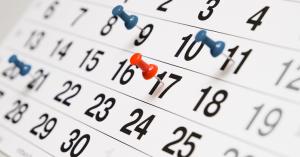 calendário_expediente-300x157 Irecê: Expediente e fluência dos prazos na Comarca estão suspensos na próxima terça-feira (4)