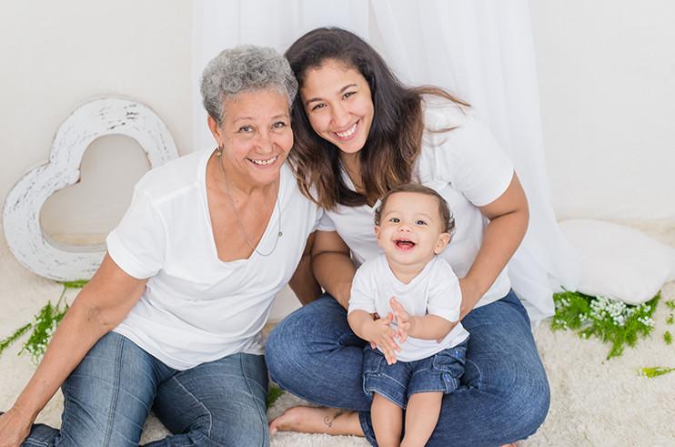 """Minha-mae-bem-na-foto-Maria-Lucia Servidora Cláudia de Sousa e Almeida ganha concurso """"Minha Mãe Bem na Foto"""""""