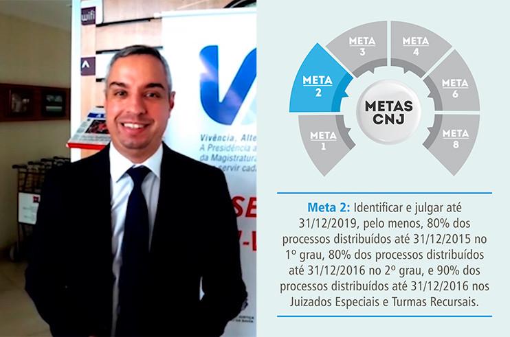 Juiz-Rodrigo-Souza-Britto-Programa-VAI Meta 2: Juiz de Brumado evidencia motivação de sua unidade judiciária e expectativas para 2019