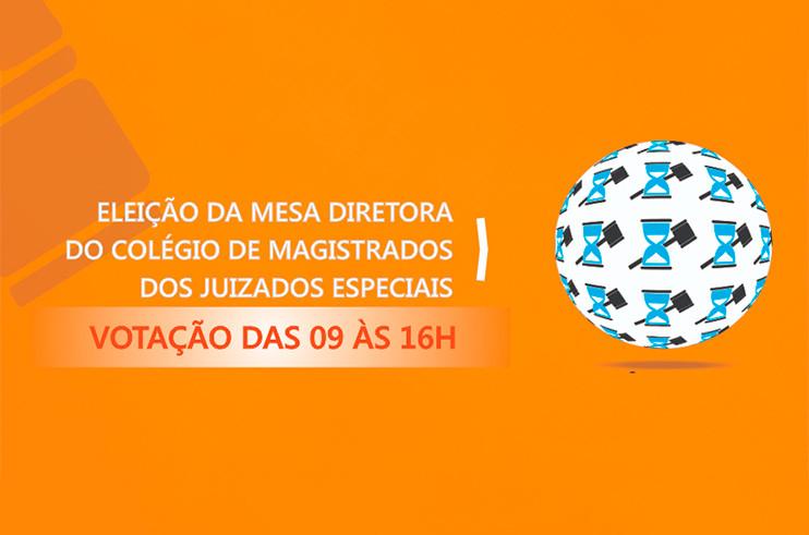 banner-votacao-colegio-de-magistrados Eleição da Mesa Diretora do Colégio dos Magistrados ocorre nesta terça-feira (20) até às 16h