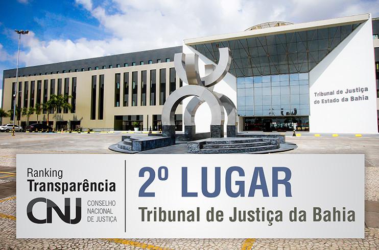 RANKING-TRANSPARENCIA-CNJ-2-LUGAR-TJBA TJBA conquista segundo lugar no Ranking Transparência do Poder Judiciário