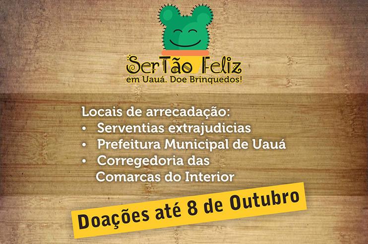 sertao-feliz Projeto Área Legal debate regularização fundiária em Uauá e realiza campanha de doação de brinquedos