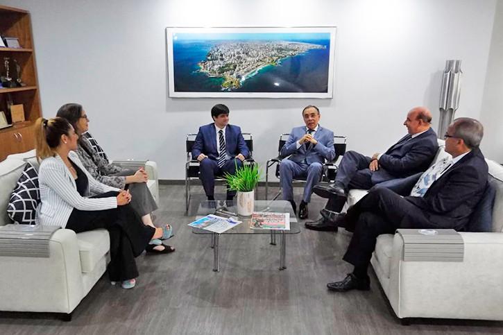 visita_des_lourival_trindade_atarde Em visita institucional ao Grupo A Tarde, Presidente do PJBA ratifica prioridades da gestão deste biênio