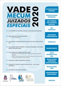 capa-vade-mecum-juizados-2020-212x300 JUIZADOS ESPECIAIS - 25 ANOS - LEGISLAÇÃO