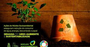 economia_semana-meio-ambiente-300x157 Semana do Meio Ambiente: Ações do Núcleo Socioambiental asseguram redução do consumo de água, energia, descartáveis e papel